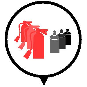 Icono residuos gases, Hondakin Gestion de residuos