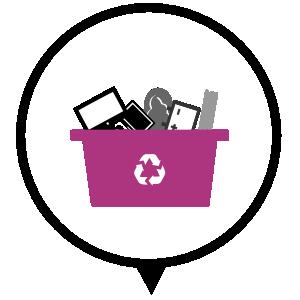 Icono residuos solidos, Hondakin Gestion de residuos